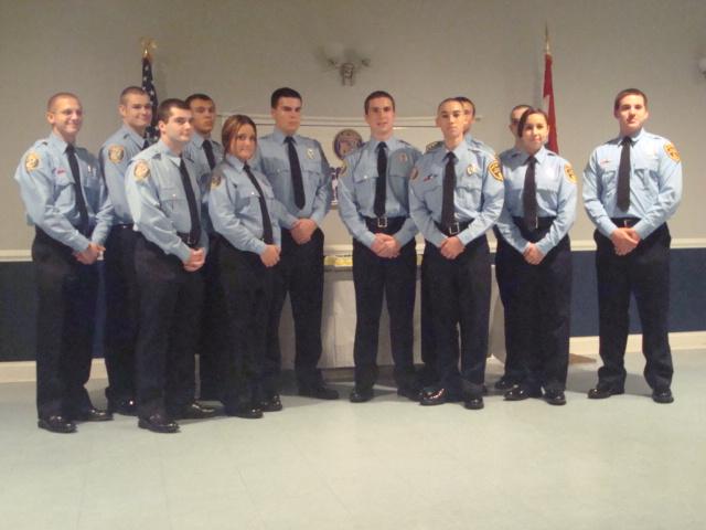 Jackson Township Police Explorers - Proficiency Awards